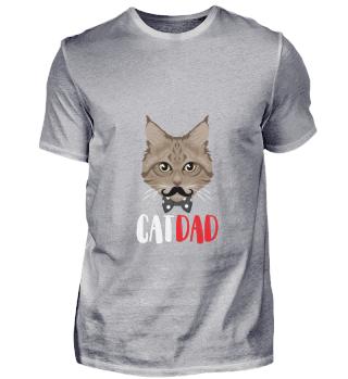 D007-0038B Cat Dad / Katzen Papa Vater