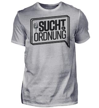Sucht und Ordnung Logo Schwarz
