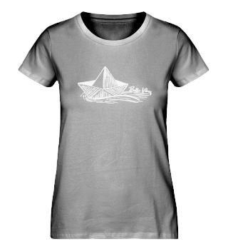 Paperboat - Damen Bio Shirt