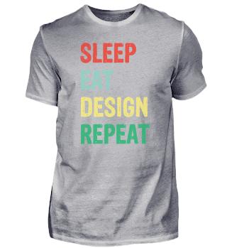 Artist Design Repeat Draftsman Painter B