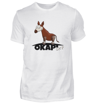 Okapi OK? Illustration Wald-Zebra-Giraffe