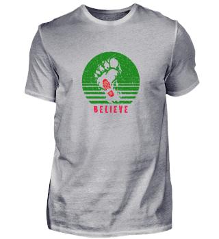 Bigfoot Believe Sasquatch Foot Print Hik