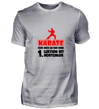 Karate, fass mich an und deine 1. Lektio