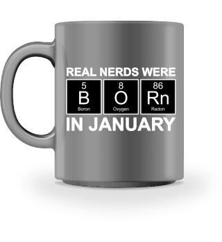 Periodic Elements - BORN january - white