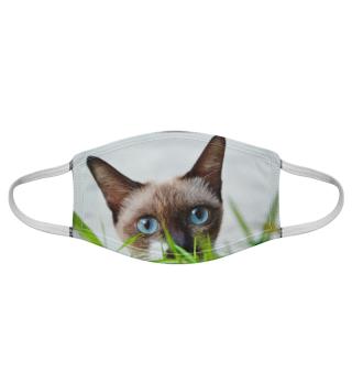 Gesichtsmaske mit Katzenmotiv 20.67