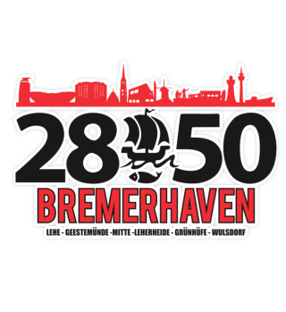 2850 Bremerhaven Sticker