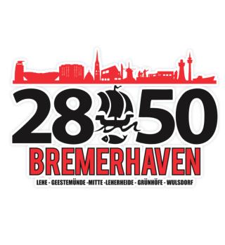 2850 Bremerhaven Sticker