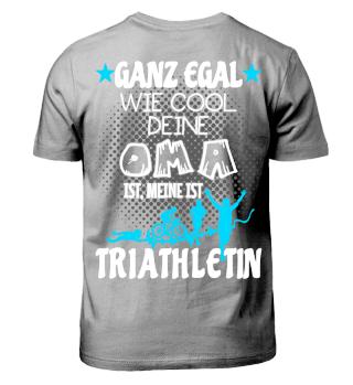 Triathlon Kinder - Oma Triathletin
