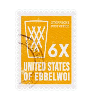 United States of Ebbelwoi - Sticker