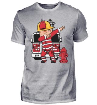 Feuerwehr Dabbing Dab Feuerwehrmann