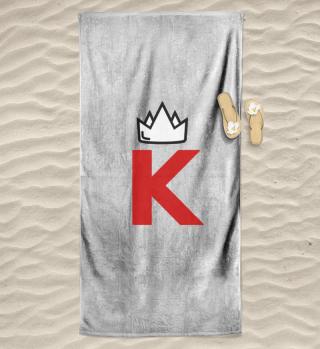 Bade-König/in - Handtuch
