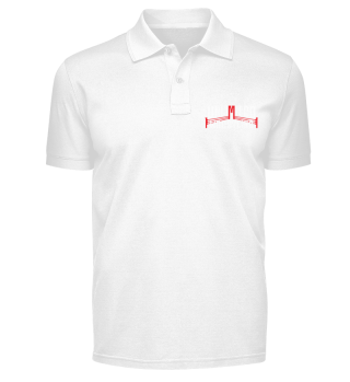 Unlimited Wrestling Logo Polo