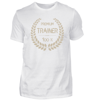 Premium - Trainer - 100 % - Shirt