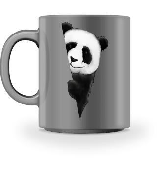 lässiger PandaBär Großer Panda Tasse