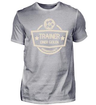 Fussball Trainer geile Mannschaft