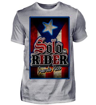 Herren Kurzarm T-Shirt Solo Rider Ramirez