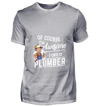 D001-0217A Proud Plumber Klempner - Awes