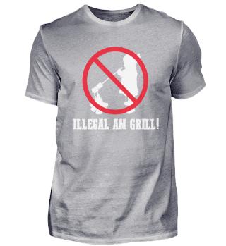Grillen – Shirt Grillparty Geschenk