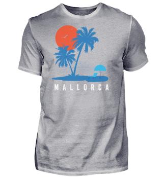 Mallorca Malle T-Shirt Palmen