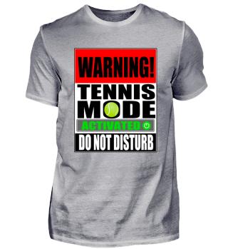 Do not Disturb - Tennis Mode activated