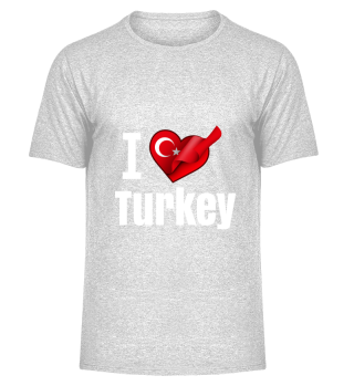 D001-0083A I love Turkey / Türkei