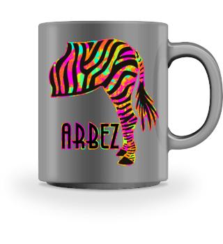 ARBEZ Zebra von Hinten - psycho
