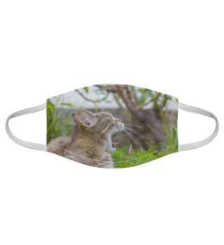 Gesichtsmaske mit Katzenmotiv 20.26