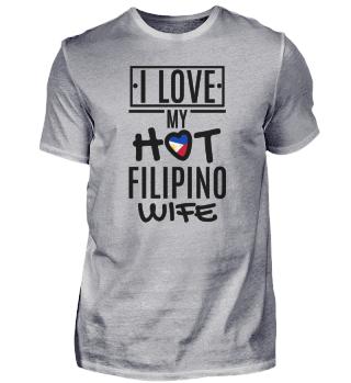 Ich liebe meine philippinische Frau.