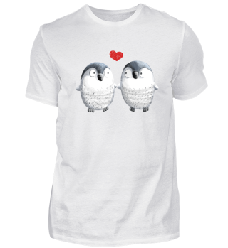 Zwei Pinguine In Love I Pinguin Comic