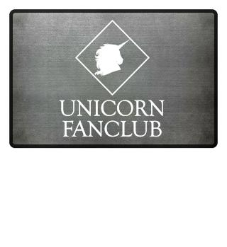Unicorn Fanclub Einhorn Fußmatte