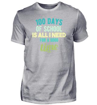 100 Days Of School nerd teacher award