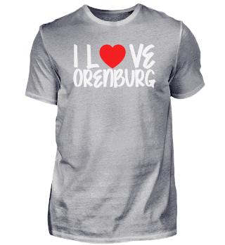 I Love ORENBURG Pride Country
