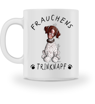 Frauchens Trinknapf Deutsch Kurzhaar