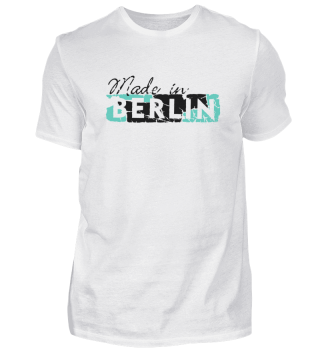 T-Shirt // Made Retro Schild weiß