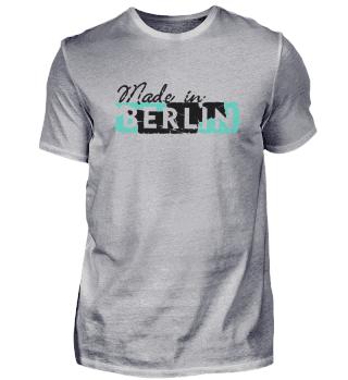 T-Shirt // Made Retro Schild weiß