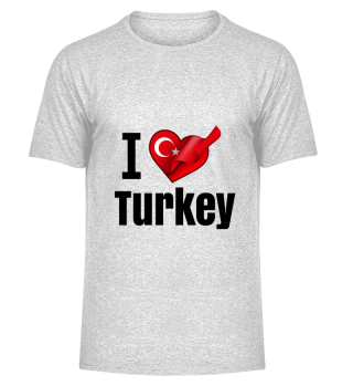 D001-0083B I love Turkey / Türkei