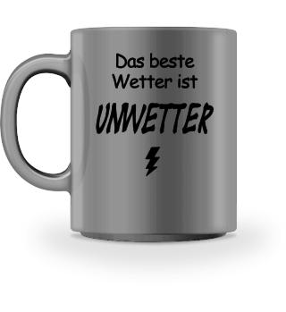 Unwetter Tasse