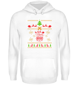 UGLY CHRISTMAS DESIGN - STRICKMUSTER #7.16