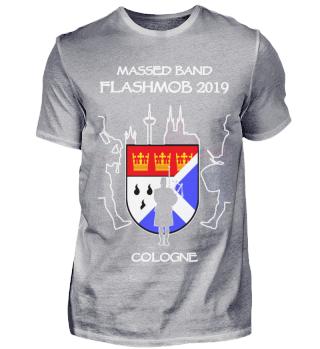 Massed Band Flashmob Cologne 2019