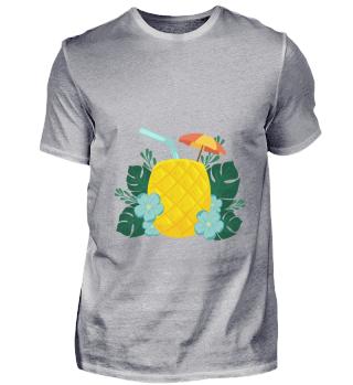 D007-0011 Pineapple Drink / Sommer / Son