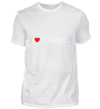I Love LOS ANGELES Pride Country T Shirt