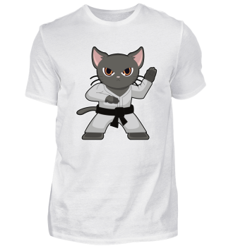 Cat Kitty Kitten Pet Gift Sport Meow