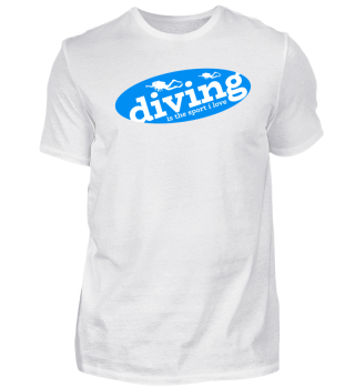 Diver Diving Instructor Underwater Gift