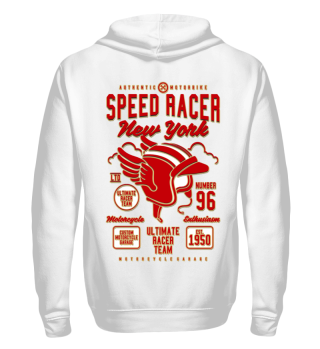 Herren Zip Hoodie Sweatshirt Speed Racer Ramirez