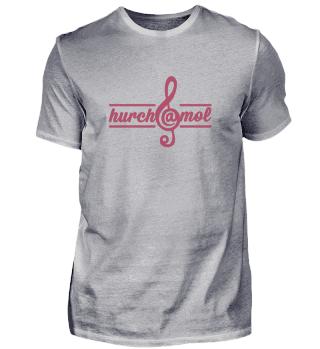hurch@mol - T-Shirt Frontprint