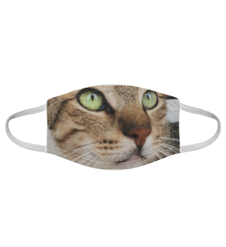 Gesichtsmaske mit Katzenmotiv 20.52