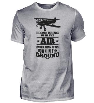 Pilot aircraft flying