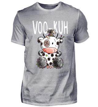 Witzige Voodoo Kuh I Comic Fun