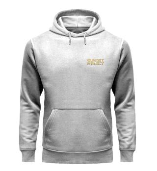 Premium Hoodie mit goldenem Logo
