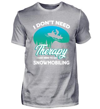 Snow Mobile ist meine Therapie